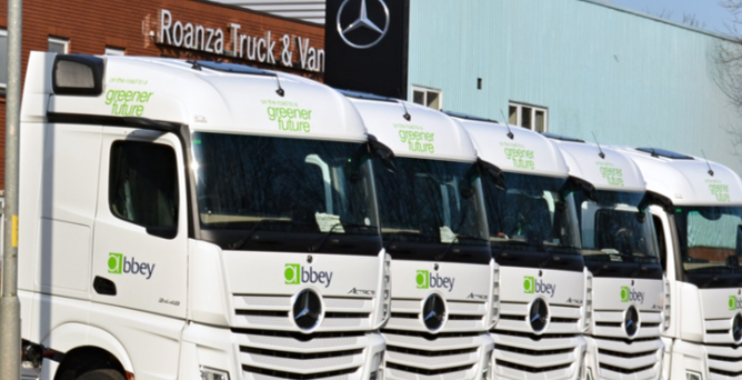 The orders are from DAF and Mercedes Benz
