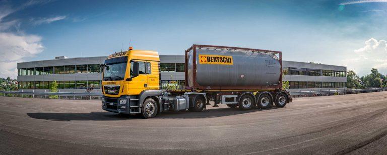 A Bertschi Group tanker
