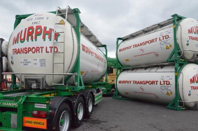 A Murphy Transport tanker