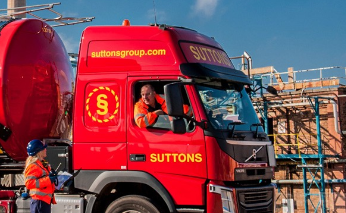 A Suttons team sprung into action